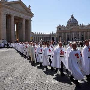2016 Couvent général des Templiers Catholique au Vatican et à Rome