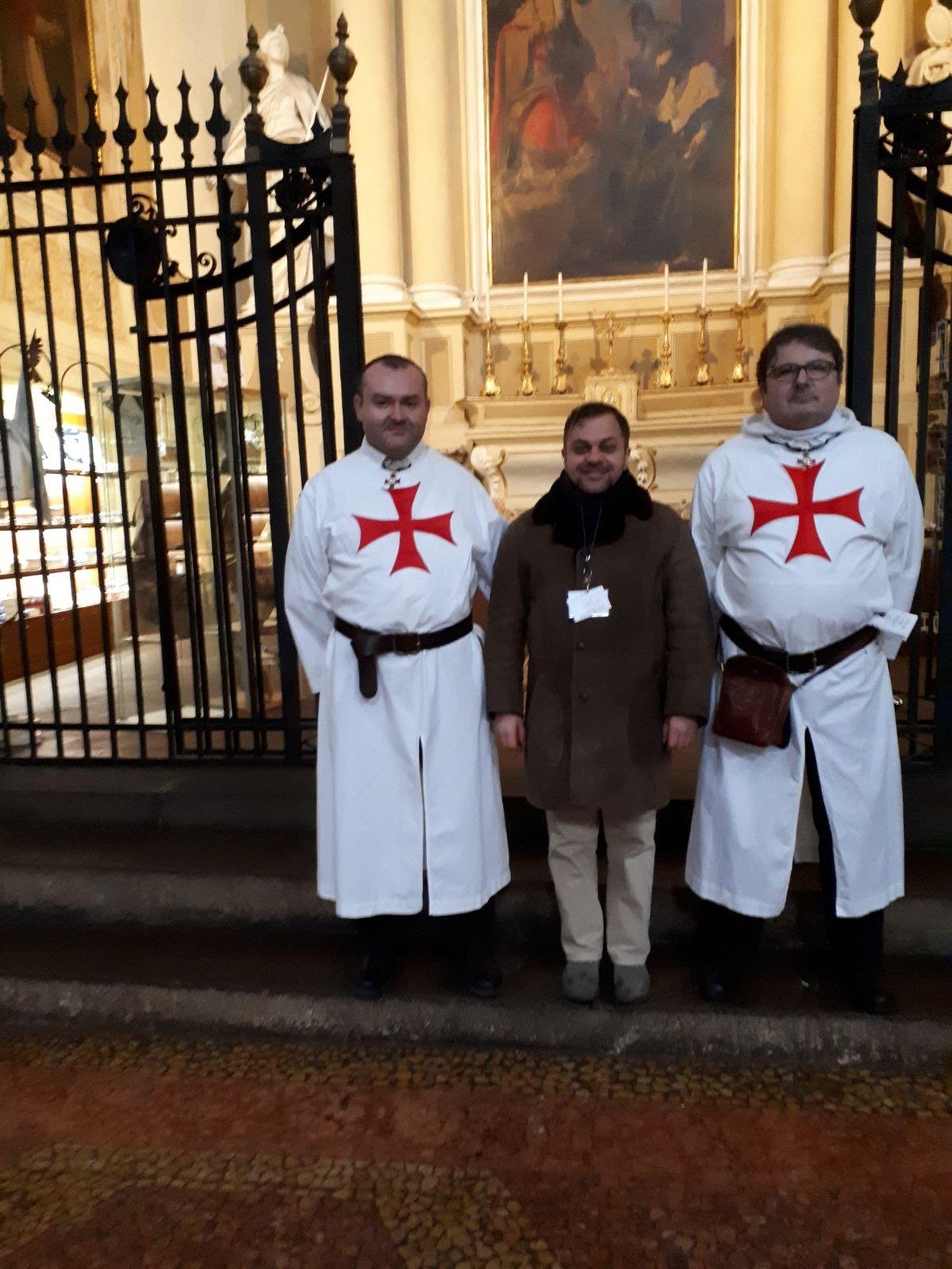 Bologna-Basilica di San Petronio 10-11 marzo 2018 Templari foto 2